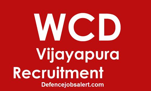 WCD Vijayapura Recruitment