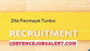 Zilla Panchayat Tumkur Recruitment