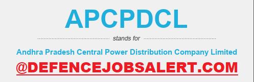 APCPDCL Recruitment