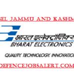 BEL Jammu and Kashmir Recruitment