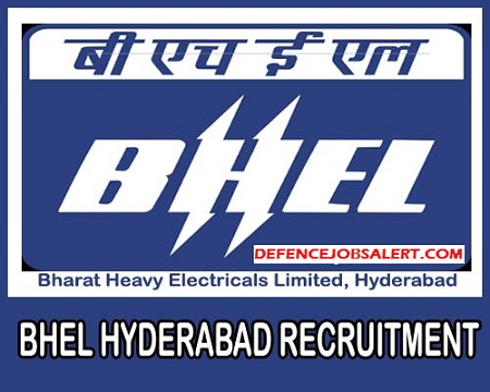 BHEL Hyderabad Recruitment
