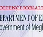 Dept of Education Meghalaya Recruitment