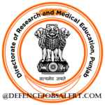 Dept of Medical Education And Research Punjab Recruitment 2021 - For 184 Senior Resident Posts