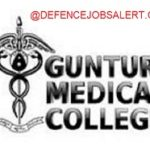 Guntur Medical College Recruitment 2021 - 11 Lab Technician, DEO & Other Vacancies