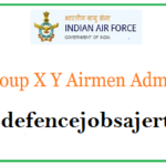 IAF X Y Group Admit Card
