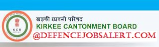 Kirkee Cantonment Board Notification