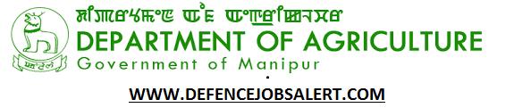 Manipur Agriculture Department Recruitment