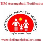 NHM Aurangabad Notification 2021 - 09 Staff Nurse, ANM, Pharmacist & Other Vacancies