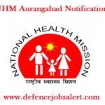 NHM Aurangabad Notification