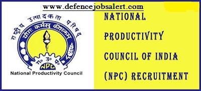 NPC Hyderabad Recruitment