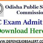 OPSC Lecturer Admit Card 2021 – Download OPSC Lecturer Call Latter