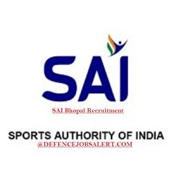 SAI Bhopal Recruitment