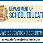 School Education Punjab Recruitment 2021 - 135 Master Cadre Vacancies