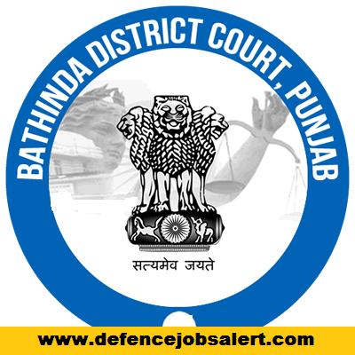 Bathinda District Court Recruitment