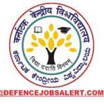 Central University of Karnataka Recruitment
