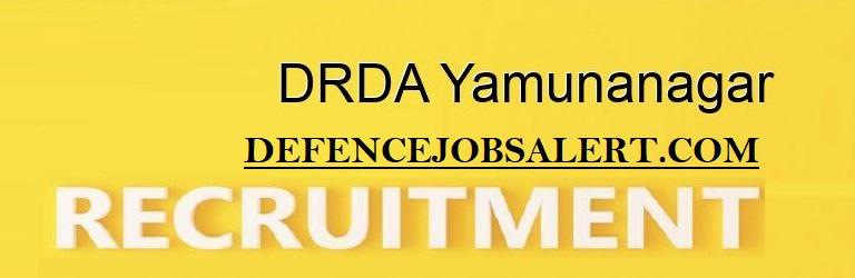 DRDA Yamuna Nagar Recruitment