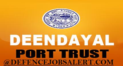 Deendayal Port Trust (DPT) Recruitment