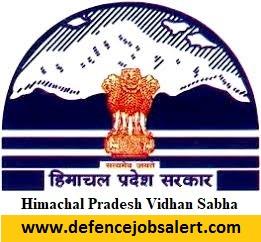 HP Vidhan Sabha Recruitment