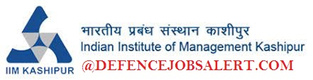 IIM Kashipur Recruitment
