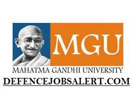 MG University Recruitment