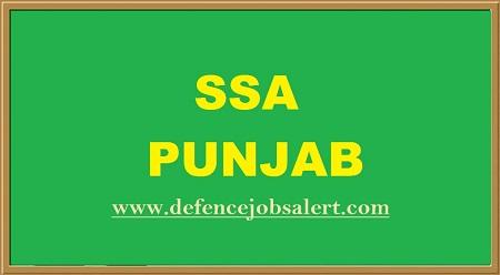 SSA Punjab Recruitment