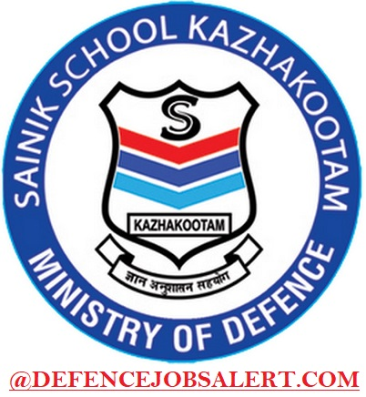 Sainik School Kazhakootam Recruitment