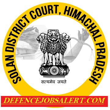 Solan District Court Recruitment