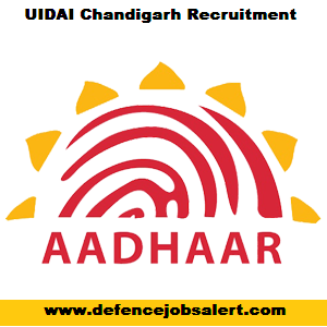 UIDAI Chandigarh Recruitment