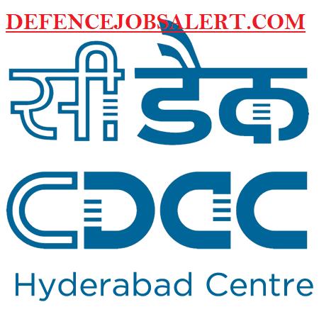 C-DAC Hyderabad Recruitment