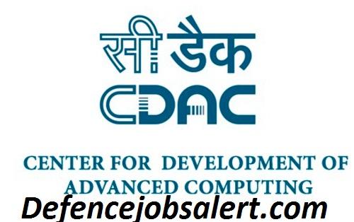 C-DAC Kolkata Recruitment