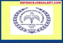 CMCH Vellore Recruitment