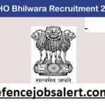 CMHO Bhilwara Recruitment