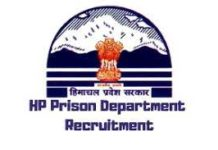 HP Prison Department Recruitment