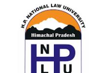 HPNLU Shimla Recruitment