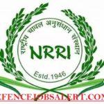 NRRI Recruitment