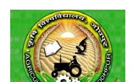 Agriculture University Jodhpur Recruitment