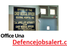 Chief Medical Officer Una Recruitment