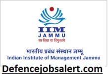 IIM Jammu Recruitment