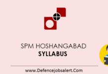 SPM Hoshangabad Syllabus