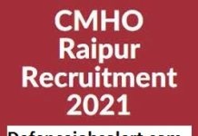 CMHO Raipur Recruitment
