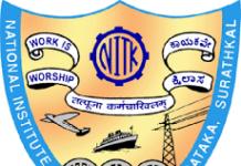 NIT Surathkal Recruitment